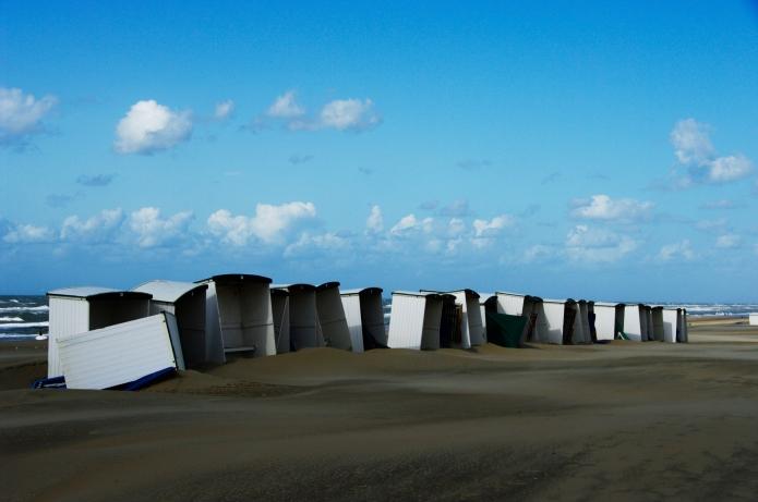 Beach mess