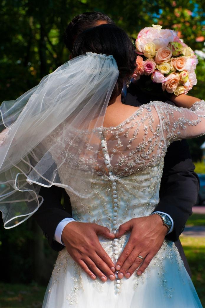 Bruiloft Hearthandbum