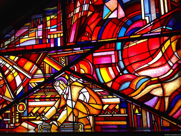 Stunning Stained Glass @ Bijenkorf The Hague