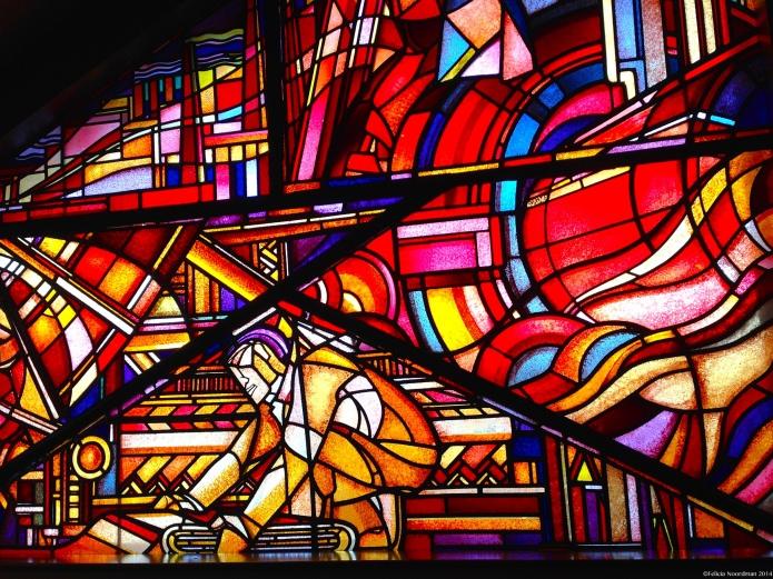 Stunning Stained Glass @ Bijenkorf The Hague