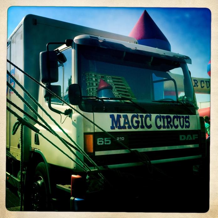 Magic Circus Truck